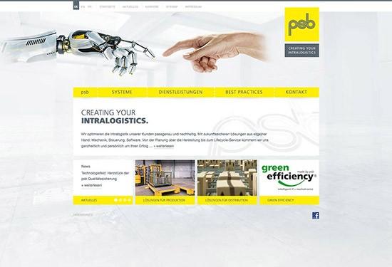 Produktwebseite